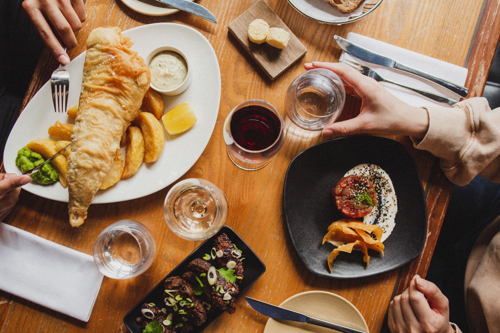 Restaurants Regent Street: Heddon Street Kitchen