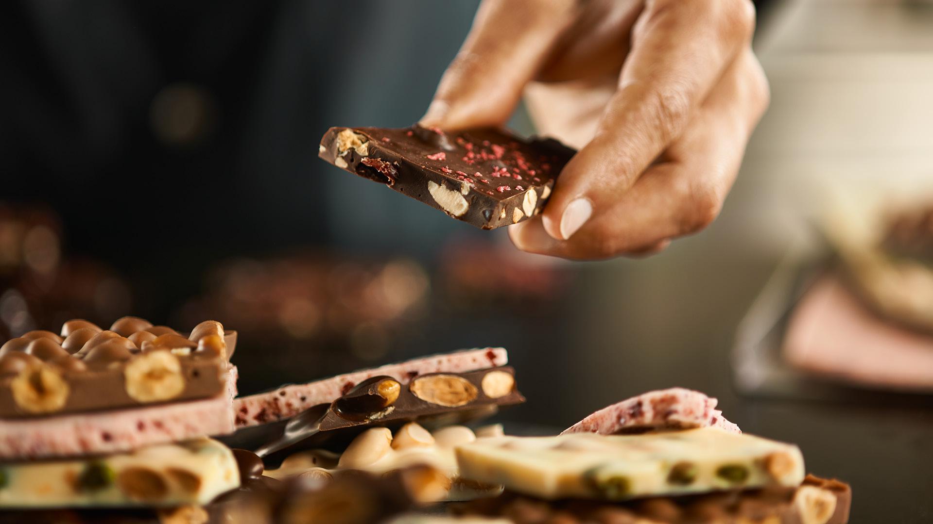 Regent Street: Laderach chocolatier