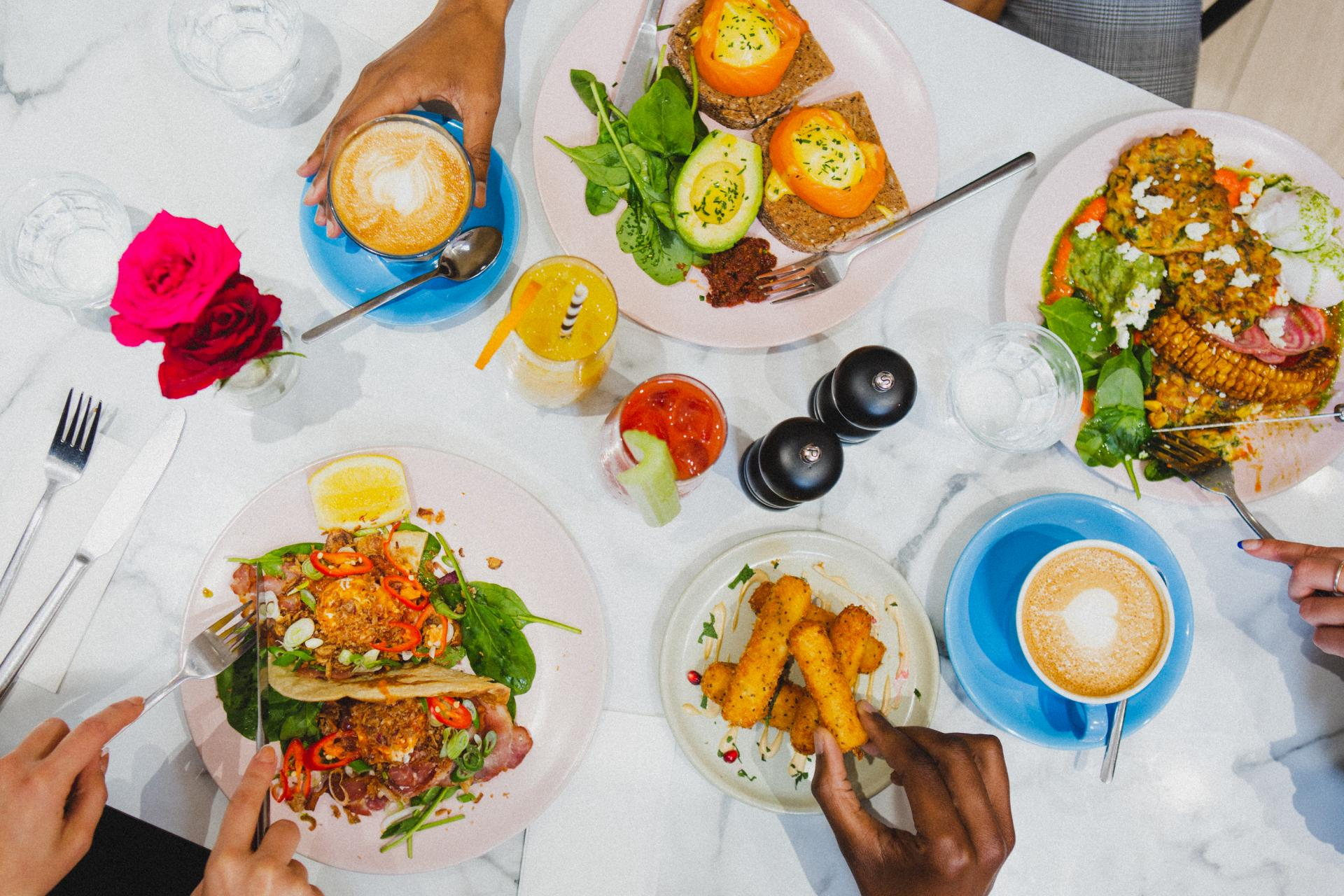 Restaurants Regent Street: Ziggy Green