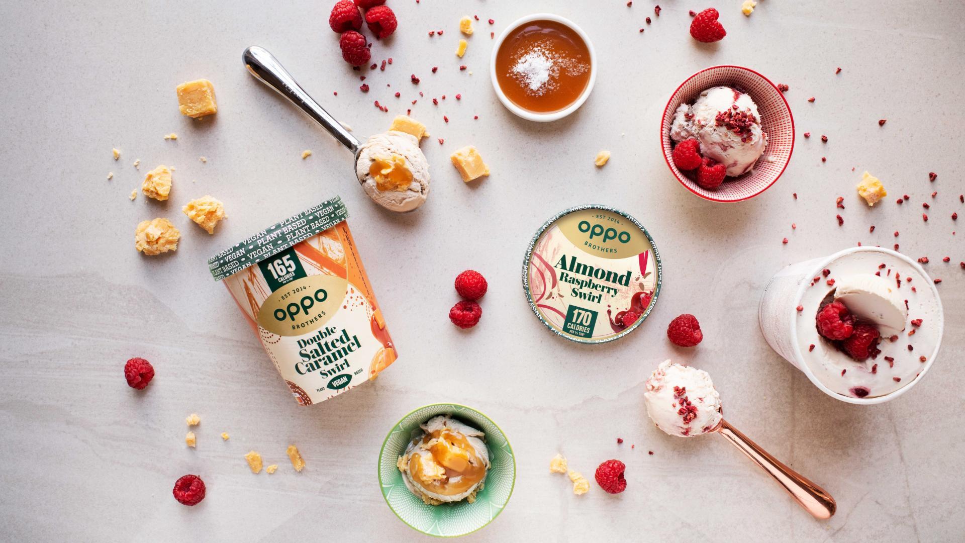 Supermarket ice creams: Oppo