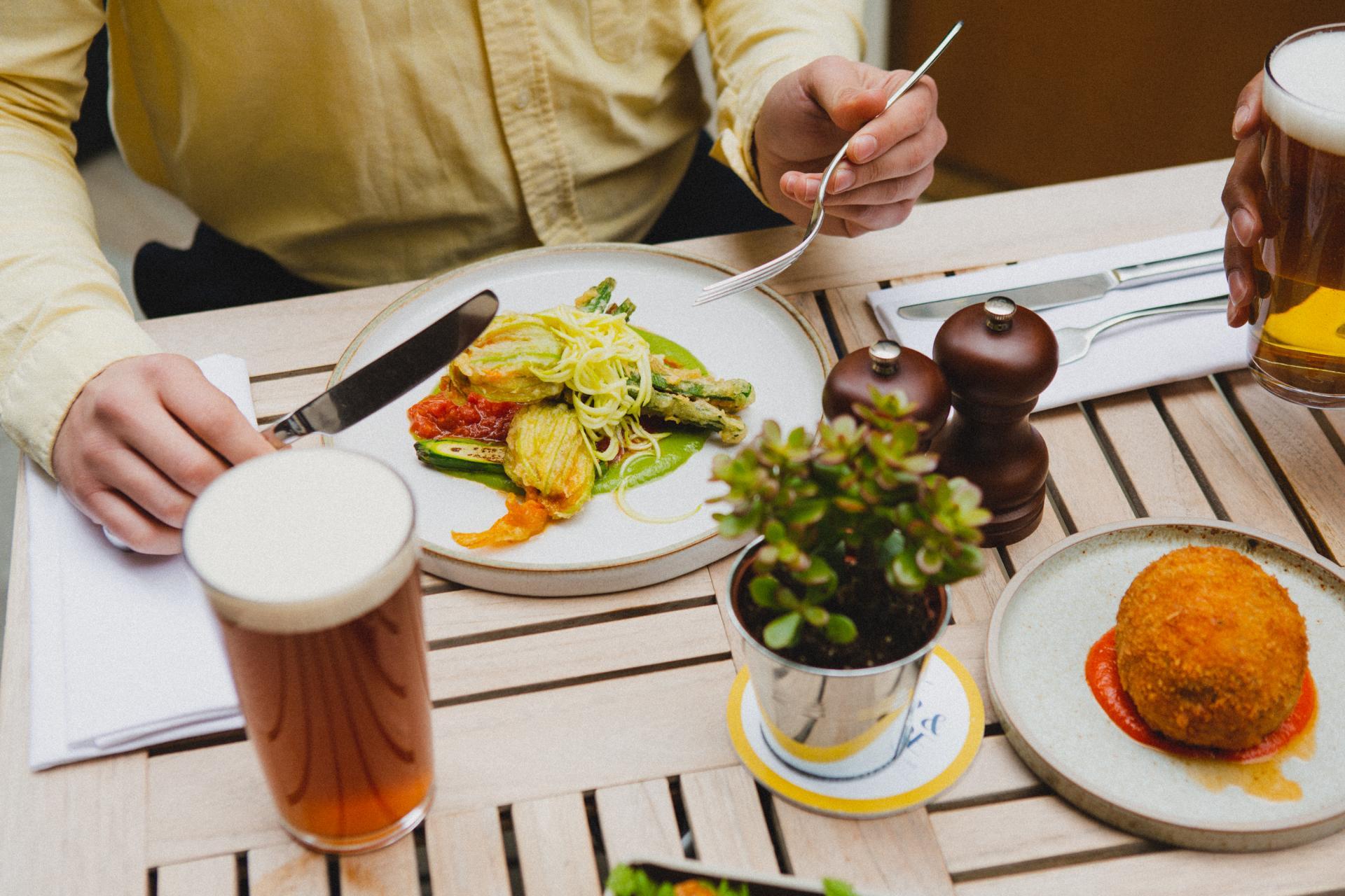Restaurants St James: lunch at The Beau Brummell