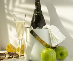 Belaire's Brut Apple Fizz cocktail