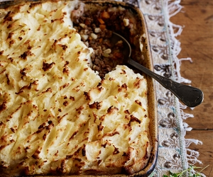 Yeo Valley beef and barley cottage pie