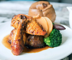 A roast at the Cornish Tiger