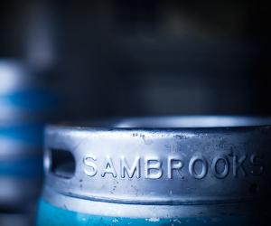 A cask at Sambrook's
