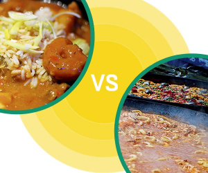 Street Food Fight: PaellavsGumbo