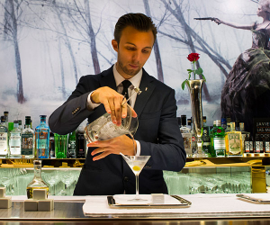 A dry martini from Dry Martini