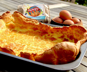 Free Rangers' one-pan Yorkshire pudding