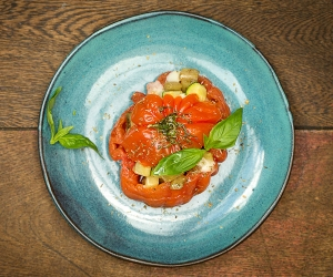 Margot's baked tomato