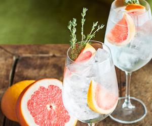 Belvedere pink grapefruit spritz