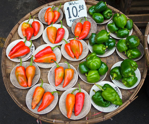 The incredible range of produce at Mexico's markets