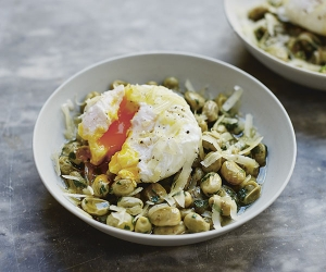Jose Pizarro's slow-cooked broad beans