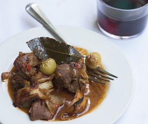 A dish at Morito Hackney Road