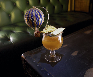 A cocktail from Mr Fogg's Residence