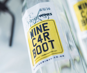 Wine Car Boot. Photograph by Richard Boll