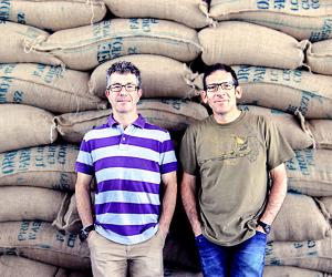 Steven and Jeremy, the founders of Union Hand-Roasted