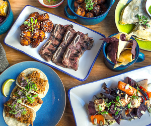 A medley of dishes from Santo Remedio