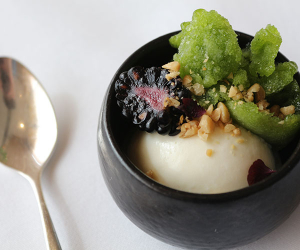 The Korean menu at Galvin at Windows