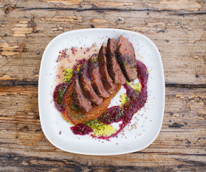 Duck breast at Donostia Social Club