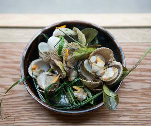 A seafood dish at Kiln