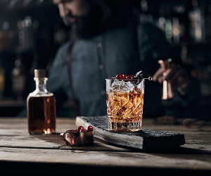 Ballantine's Hard Fired old fashioned 2