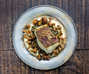 Ondine's recipe for butter-roast cod