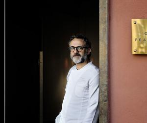Massimo Bottura of Osteria Francescana, shot by Paolo Terzi