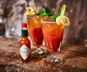 Give the classic boilermaker a Deep South twist with the smoky flavour of Tabasco