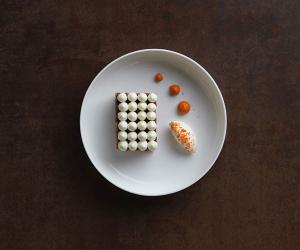 The carrot cake at The Gilbert Scott