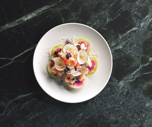 The interiors at Marcus Wareing's Tredwells