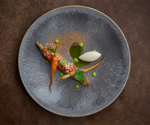 The carrot dish at Launceston Place