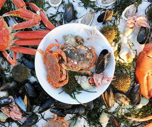 Seafood platter in St. John's Newfoundland & Labrador, Canada