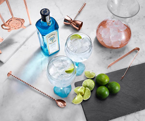 Bombay Sapphire's gin and tonic