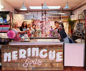 Meringue Girls' shop on Broadway Market