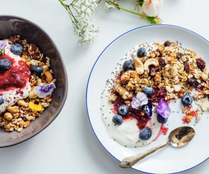 Make the Social Pantry's walnut, date and ginger granola