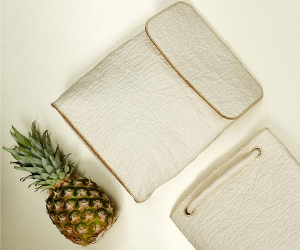 Ananas Anam makes handbags from pineapple leaves