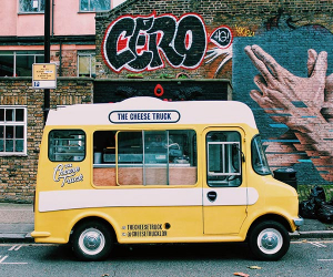 The Cheese Shed in Camden started out as a travelling street food truck