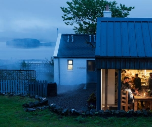 New Forest's food-centric boutique bolthole, Lime Wood on the lake; photograph by Angus Bremner