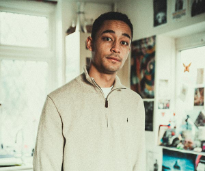 An interview with Loyle Carner; photograph by Victor Frankowski