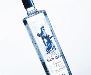 Snow Queen, an organic vodka from Kazakhstan