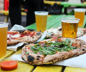 Everything you'll be eating at our National Pizza Day Pre-Party