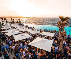 Cafe de Mar at Sunset, Malta