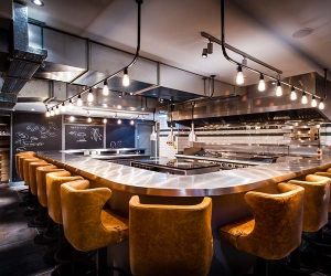 Best Chef's Tables in London. Kitchen Table by Paul Winch-Furness