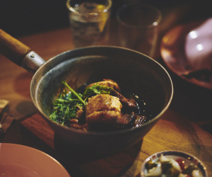 The soya-braised half chicken at Smoking Goat Shoreditch