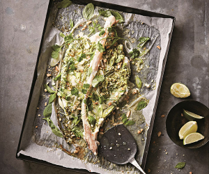 Make Rick and Katie Toogood's roasted Vietnamese monkfish; photography by Steven Joyce