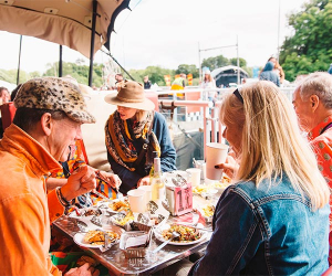 The Le Bun diner at Standon Calling 2017 © Justine Trickett / Fanatic 2017