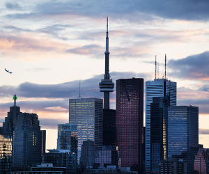 Toronto, Canada; Photograph from Getty Images