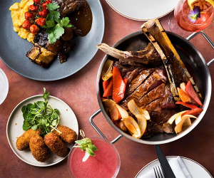 Beef on the bone at Andina Notting Hill