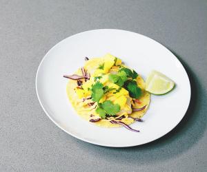 Nud Dudhia's Baja fish taco with Wild Alaska Pollock