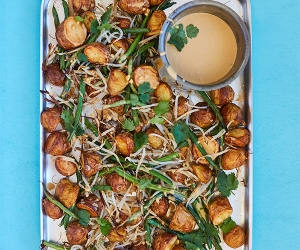 Rukmini Iyer's gado gado recipe. Photo by David Loftus
